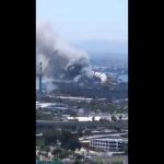 بونهوم ريتشارد.. نشوب حريق كبير في سفينة تابعة للبحرية الأمريكية في سان دييغو