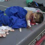 استشهاد وإصابة 33 مواطناً بغارة لطيران العدوان الأمريكي السعودي في الجوف