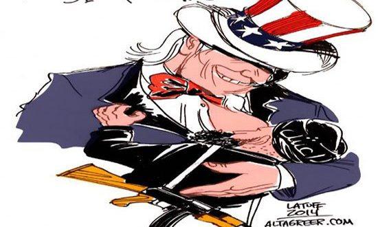 إذا كان أنصار الله إرهابيين.. فمن هي أمريكا إذن؟!