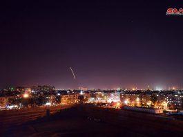 الدفاعات السورية تتصدى لعدوان إسرائيلي في أجواء محيط مدينة دمشق